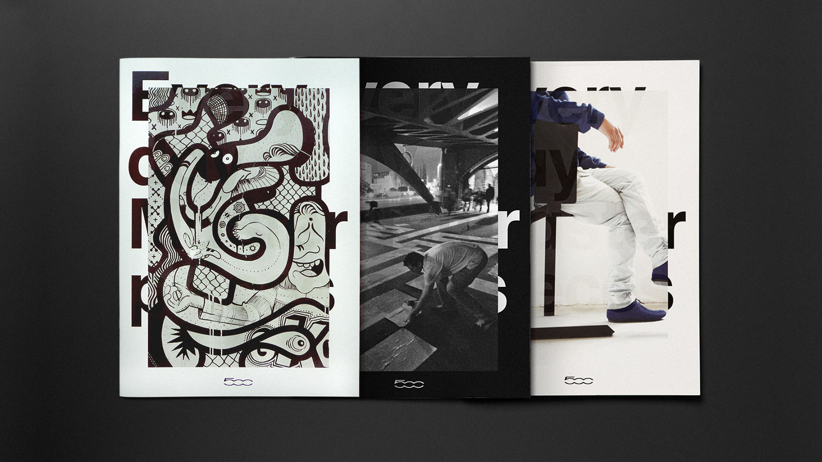 Fiat 500 — Magazine Design — Every Day Masterpieces