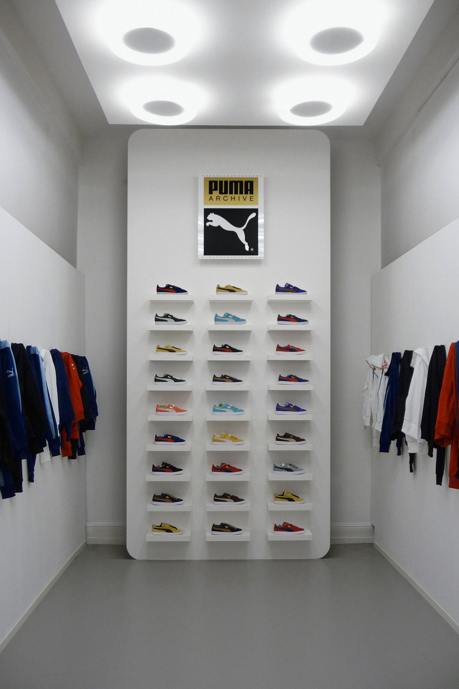 Golden Gate — Brand Communication Design › PUMA — Suede — Booth Design